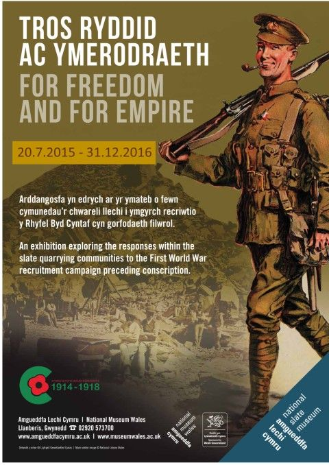 For Freedom and for Empire poster extended dates