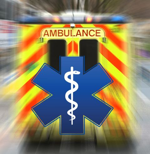 Ambulance and medical symbol
