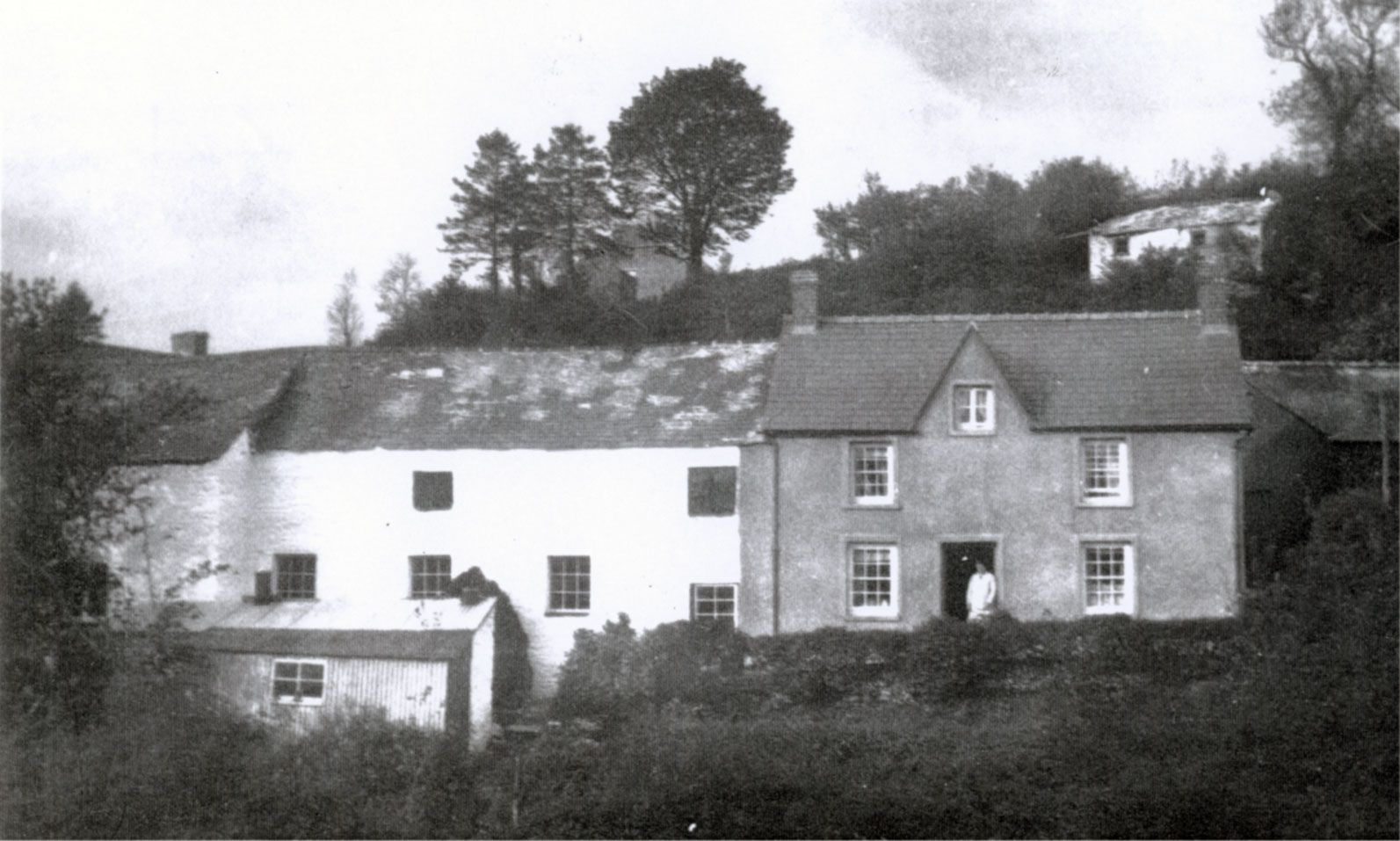 Goodwin Mill and family home Cynwyl Elfed, Carmarthenshire.