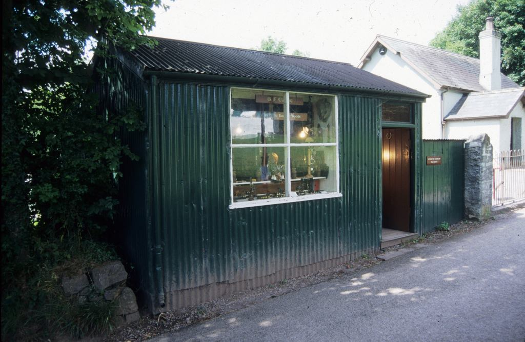 The Saddler's workshop at St Fagans National Museum of History