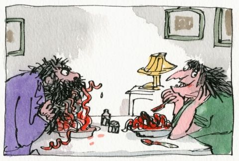 The Twits, Illustration © Quentin Blake
