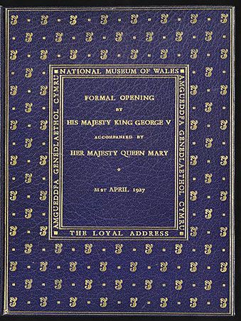 specially bound copy of the Loyal Address to King George V