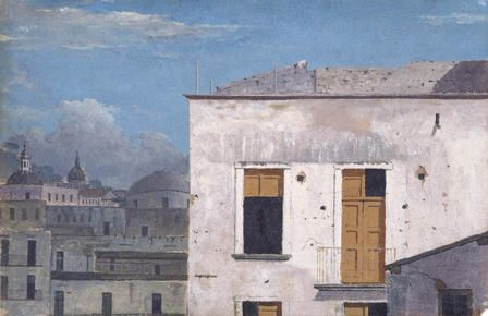 Thomas Jones' 'Buildings in Naples', 1782
