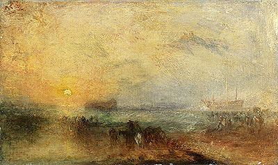JMW Turner, The Morning after the Storm, oil on canvas, c. 1840-45