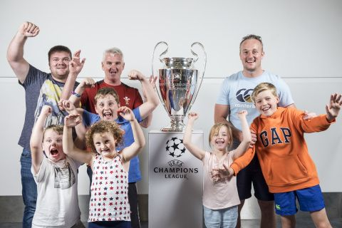 UEFA Champions League Cup visits Cardiff