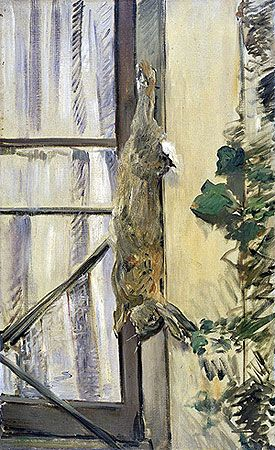Edouard Manet (1832 — 1883), The Rabbit