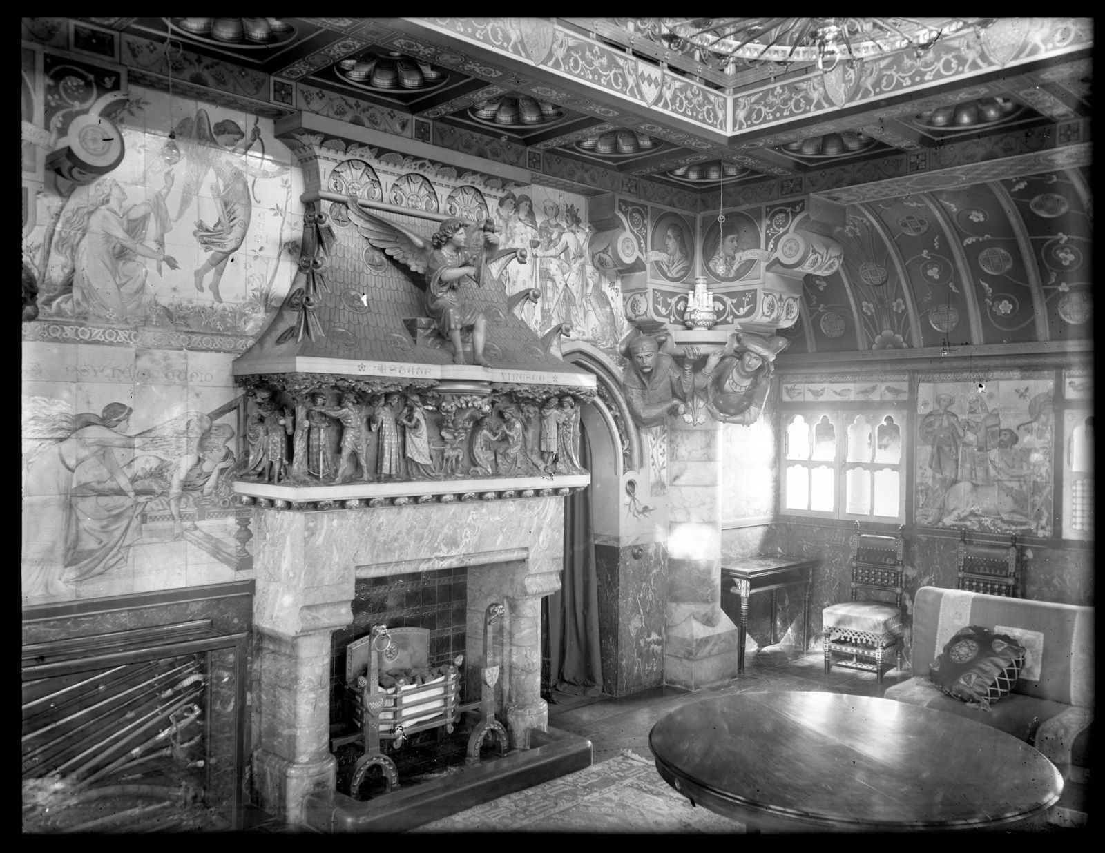 The Summer Smoking Room, Cardiff Castle, c. 1900