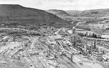 Nantgarw Colliery under construction May/June 1951