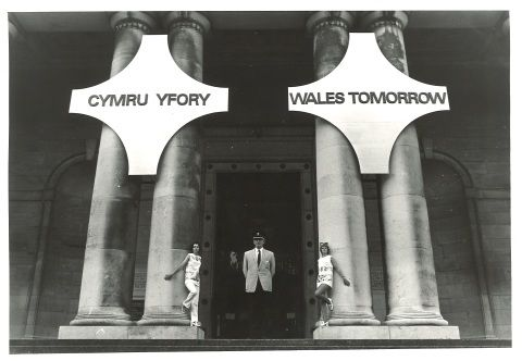 photo: exhibition Wales Tomorrow, 1969