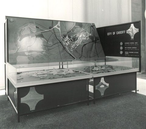 Cymru Yfory Wales Tomorrow 1969 City of Cardiff display