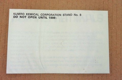Cymru Yfory Wales Tomorrow 1969 Kumro Kemical Corporation sealed envelope
