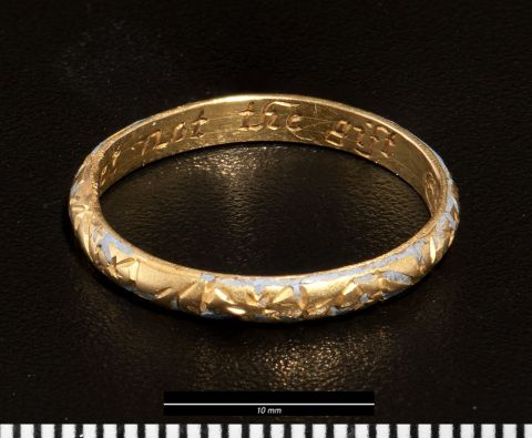 Posy Ring form St Dogmaels