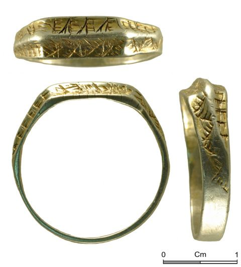 Decorative ring from Gileston