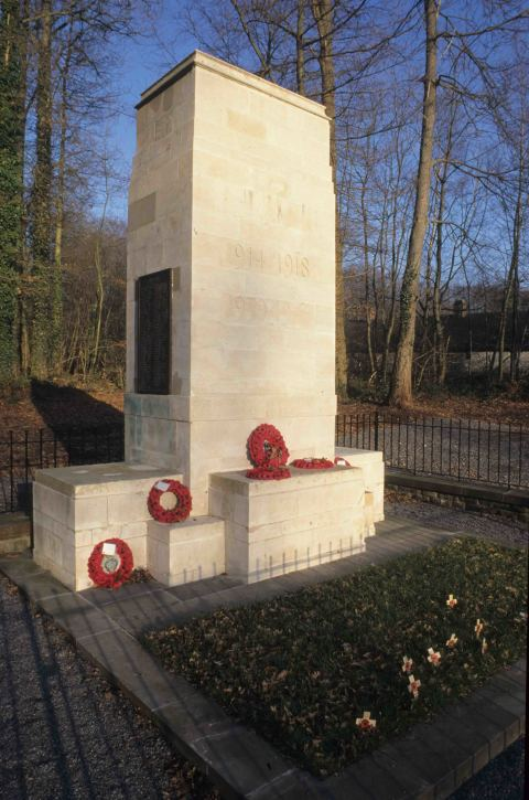 Newbridge War Memorial at St Fagans National Museum of History