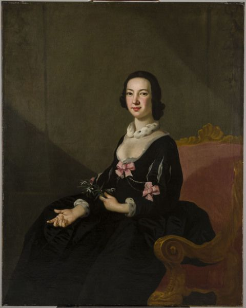 Painting of a lady