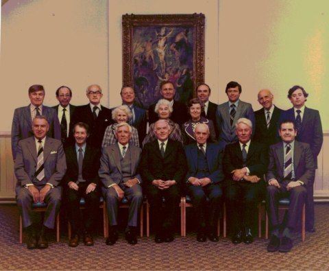 Minny Street Church Deacons 1980