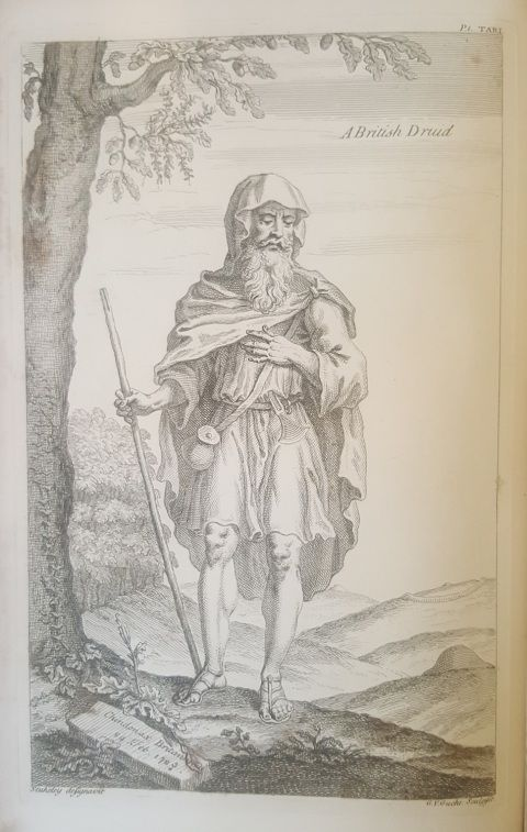 Image of a Druid by William Stukeley