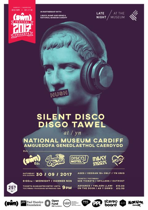 Image: Poster for HUSH - Silent Disco