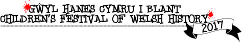 Logo: Welsh Childrens History Festival