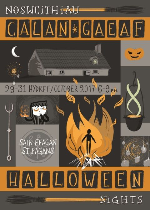 Halloween Nights flyer