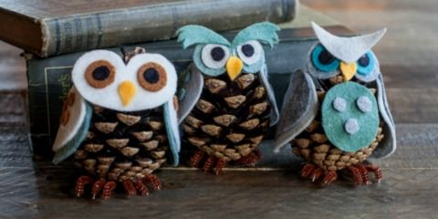 Pinecone Pals -owls