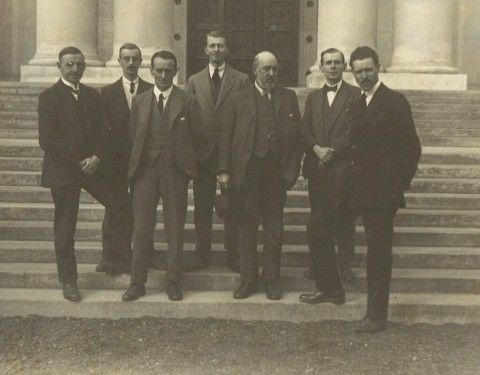 National Museum Wales Heads of Departments 1922 [Lee is third in from the left]