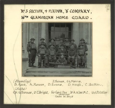 16th Glamorgan Home Guard 'National Museum Wales section' [circa. 1940]