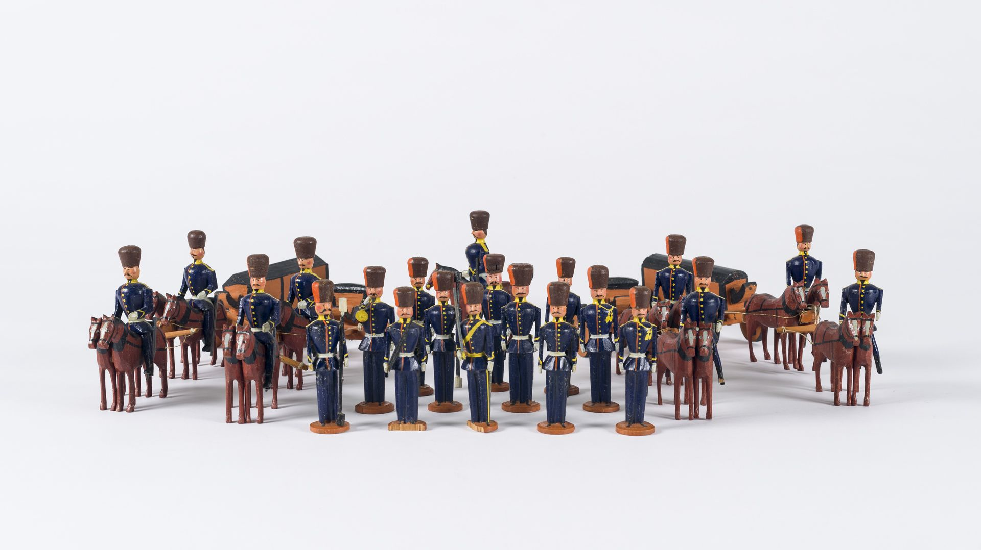 set of toy soldiers