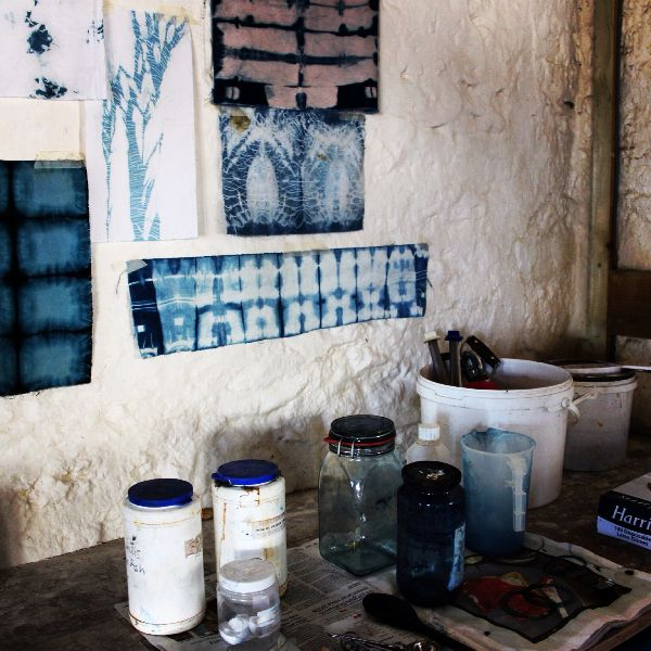 Dyeing workshop