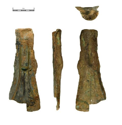 Bronze Age axe mould
