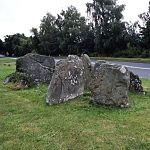 Megalithic tomb overlying earlier occupation - Gwernvale, Powys