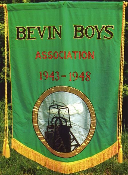 Bevin Boys commemorative banner