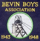 Bevin Boys Association blazer badge.