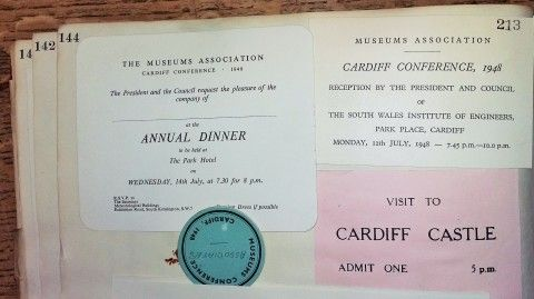 Museum Association Conference ephemera [1948]