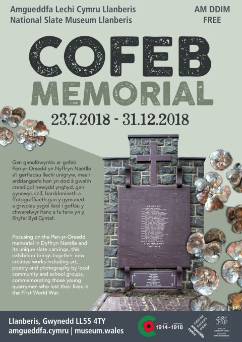 Memorial Exhibition National Slate Museum Llanberis 2018