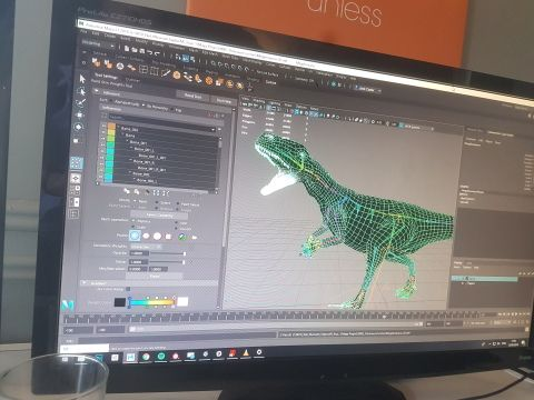 creating roar-some dinosaur animations and graphics