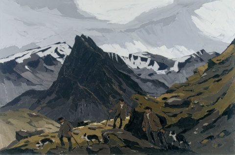 Painting by Kyffin Williams