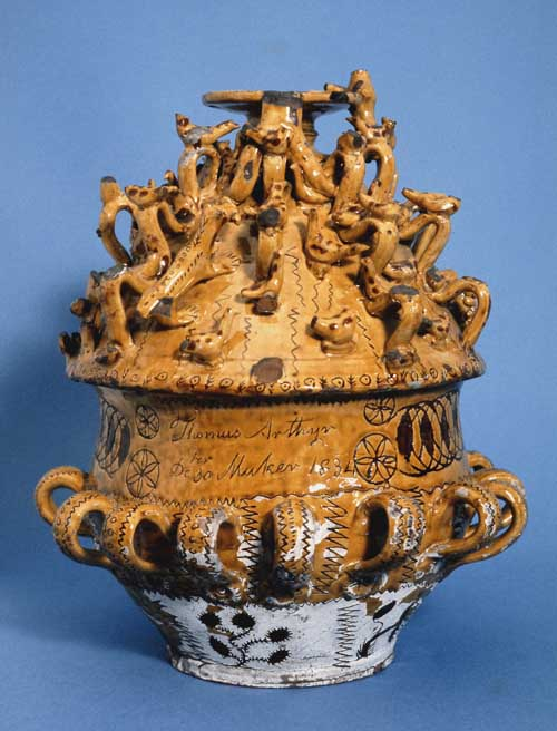Waissailing Bowl from the Museum's Collections.