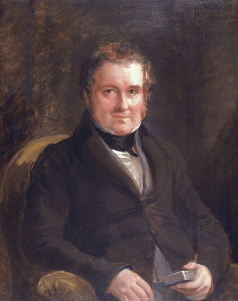 Lewis Weston Dillwyn (1778-1855) by Sir George Hayter (1792-1871).