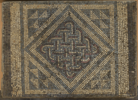 The un-ending knot within the Roman mosaic from caerwent.