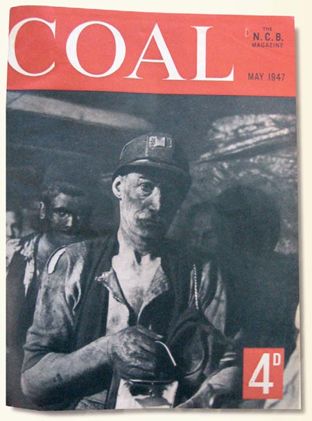 COAL magazine from the National Coal Board