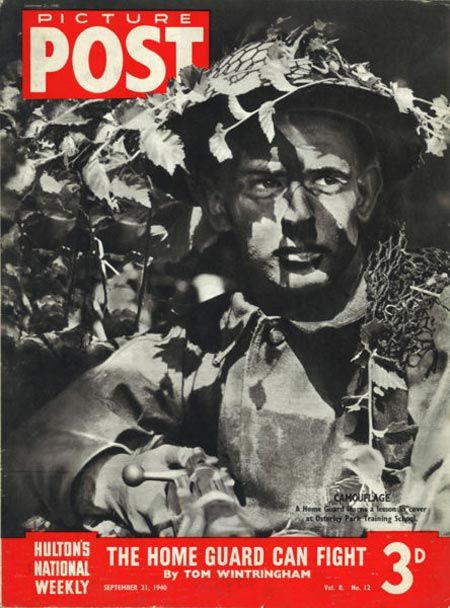 Front cover of the Picture Post, dated 21 September 1940.