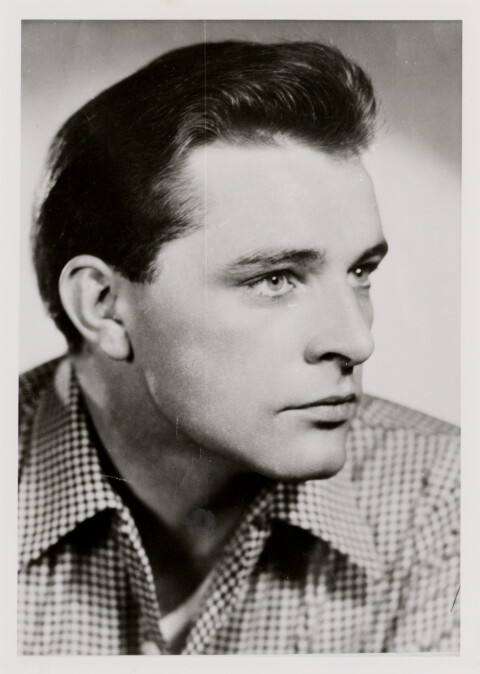 Richard Burton as a young man