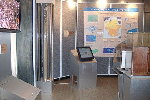 Explore the Sea Floor exhibition in Kettering.