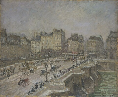 Camille Pissarro (1830–1903); Pont Neuf, snow effect, 2nd series, 1902