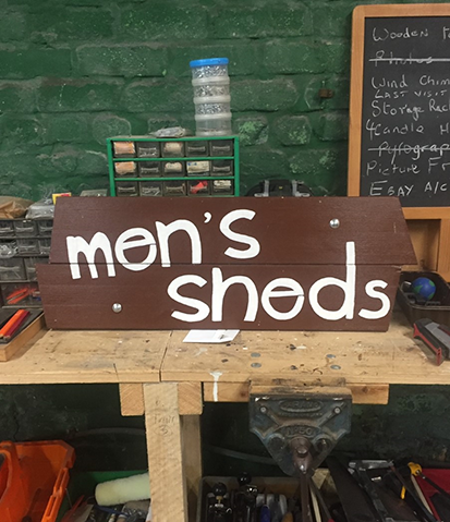 Mens Shed Logo design