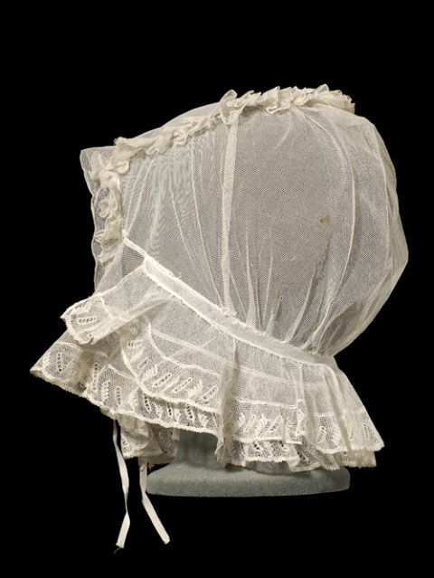 Lace Cap from the Museum's Collections.