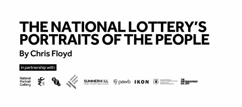 The National Lottery Portraits of the People Digital Exhibition 2020 Banner