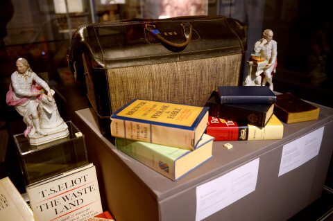 Richard Burton's book bag