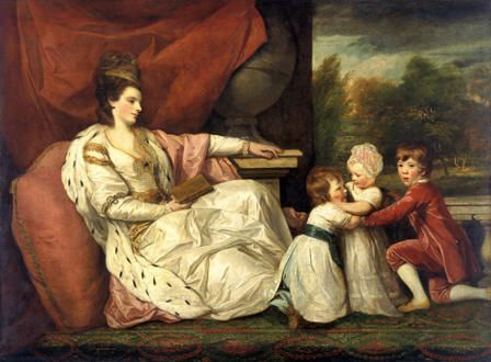Charlotte (Grenville), Lady Williams-Wynn (1754-1830) and her Children